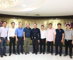 孟加拉华侨华人联合会拜会泰国统促会王志民会长