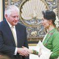 """蒂勒森抨击缅甸搞""""种族清洗"""" 缅方回击:没有任何证据"""