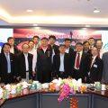 台湾中华统一促进党关志刚秘书长会泰国统促会