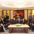 江苏省体育局代表团访问泰国统促会
