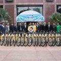 泰国统促会向泰国国安局捐赠自行车帮助贫困儿童