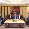 厦门市台办黄河明主任率团到访泰国统促会