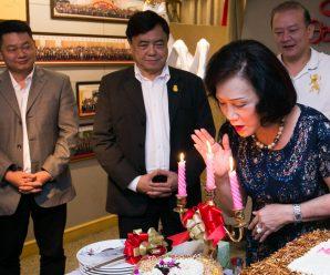 嘉乐斯集团共庆王林怡珠女士68岁生辰