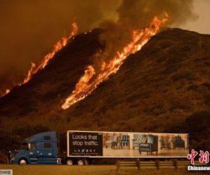 美洛杉矶周边火势仍失控 中领馆吁勿前往控制区