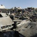 多国联军空袭也门一市场致40人死亡 数十人受伤