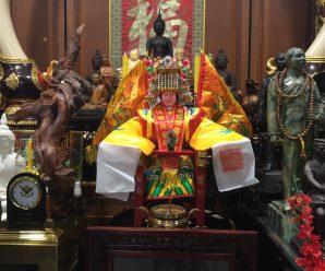 泰国统促会王会长及夫人恭迎妈祖圣像回泰国供奉香火