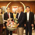 泰国江浙沪总商会主席钱湘麟拜访泰国统促会王志民会长