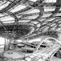 北京新机场航站楼实现封顶封围