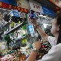 手机支付崛起 中国用现金的支付的人减少
