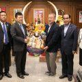 开泰分行行长及中国银行行长拜会泰国统促会王志民会长