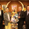 数家社团拜会泰国统促会王志民会长