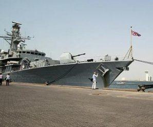 """英国宣称派军舰""""巡航""""南海 敢进12海里吗?"""