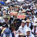 """""""冲绳不是殖民地!""""冲绳再要求停用驻日美军机场"""