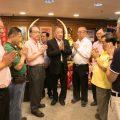 泰国王氏宗亲总会拜会泰国统促会王志民会长