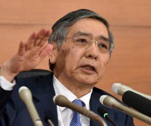 日本政府提名三位央行高官:黑田东彦获得连任提名