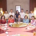 泰国统促会王志民会长出席其侄订婚典礼
