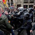 加泰罗尼亚自治区前主席被捕 当地人群与警方爆发激烈冲突