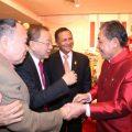 泰国统促会常务理事侯悦生为父亲举行80大寿及结婚50周年庆贺宴会