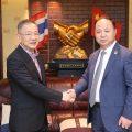 吉林省动漫学院代表团访问泰国统促会