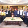 山西省政府代表团访问泰国王氏宗亲总会