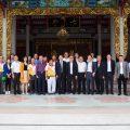 山西政府访问团祭拜泰国王氏宗亲总会宗祠