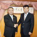 泰国山西商会访问泰国华人青年商会