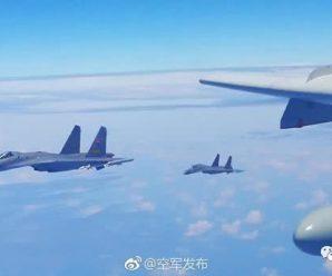"""解放军台海军演,专家析""""绕岛巡航""""机队:这是反干预作战"""