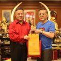 泰华青年商会李桂雄会长拜访泰国统促会王志民会长