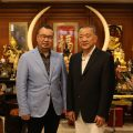 深圳潮人海外经济促进会一行拜会泰国统促会王志民会长