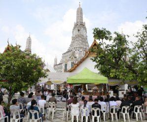 泰国统促会王志民会长参加郑信大帝祭拜法会