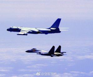 """中国空军多型战机连续""""绕岛巡航"""" 检验实战能力"""