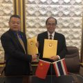 侨泓教育科技有限公司与曼谷吞武里大学签署教育合作协议