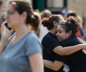 美高中枪击案已致10死 特朗普心碎:这悲伤的一天