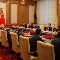 外交部长王毅在北京与伊朗外长扎里夫举行会谈