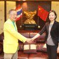 泰国大连商会及大连金普新区代表团访问泰国统促会