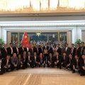 亚洲统促会访问团拜会中共中央统战部