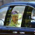 英女王庆92岁官方寿辰 哈利王子携妻子梅根亮相