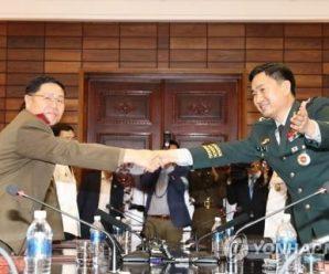 韩朝边境互撤重武器提上议程 韩媒:有助提升互信