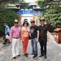 泰国统促会访问团参观蓬莱水城及蓬莱阁