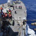 美国海军也绕岛?美舰穿过台湾海峡后再次现身南海