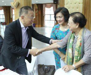 泰国潮州会馆暨各县同乡会首长举行530次聚餐研讨会