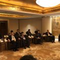 上海市侨联举行晚宴款待中国侨联海外顾问委员上海参访团