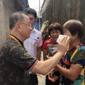 泰国统促会潮汕水灾慰问团慰问潮南区受灾群众