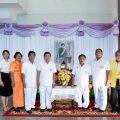 泰国王氏宗亲总会前往朱拉隆功医院为Soamsavali祈福