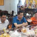 中华文化促进会一行到访泰国中国和平统一促进总会