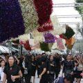 泰国举行仪式纪念先王普密蓬逝世两周年