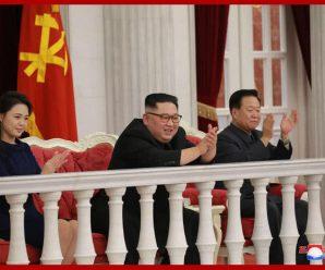 金正恩看建军节演出时要这首歌再来一遍 满意竖起大拇指