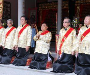 旅泰潮阳华西乡王氏族亲会举行祭祖典礼