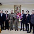 泰国统促会李胜交常务副会长一行拜会泰国国家警察总署盛堪警上将