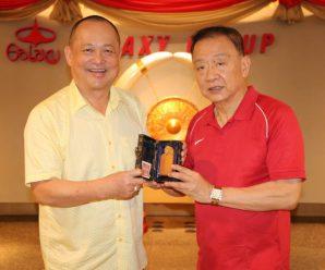 泰国统促会荣誉会长谢悦龙拜会王志民会长